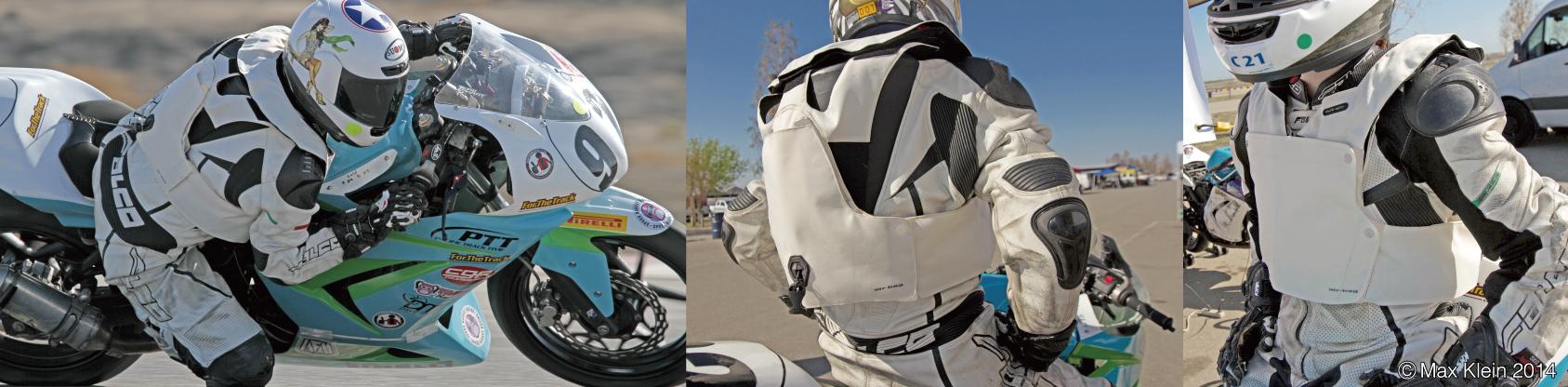 veste moto airbag RS1