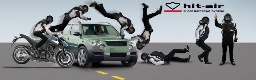 echipament moto cu airbag