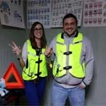 Veste de protecţie cu airbag pentru elevi la Şcoala Moto AMI